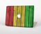 "The Red, Yellow and Green Wood Planks Skin Set for the Apple MacBook Pro 15"" with Retina Display"