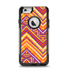 The Red, Yellow and Purple Vibrant Aztec Zigzags Apple iPhone 6 Otterbox Commuter Case Skin Set