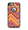 The Red, Yellow and Purple Vibrant Aztec Zigzags Apple iPhone 6 Otterbox Defender Case Skin Set