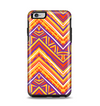 The Red, Yellow and Purple Vibrant Aztec Zigzags Apple iPhone 6 Plus Otterbox Symmetry Case Skin Set