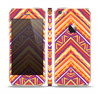 The Red, Yellow and Purple Vibrant Aztec Zigzags Skin Set for the Apple iPhone 5s