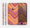 The Red, Yellow and Purple Vibrant Aztec Zigzags Skin for the Apple iPhone 6