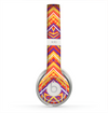 The Red, Yellow and Purple Vibrant Aztec Zigzags Skin for the Beats by Dre Solo 2 Headphones