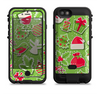 the red and green christmas icons  iPhone 6/6s Plus LifeProof Fre POWER Case Skin Kit