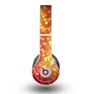 The Red and Yellow Glistening Orbs Skin for the Beats by Dre Original Solo-Solo HD Headphones