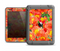 The Red and Yellow Watercolor Flowers Apple iPad Air LifeProof Fre Case Skin Set