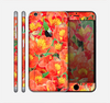 The Red and Yellow Watercolor Flowers Skin for the Apple iPhone 6 Plus