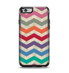 The Retro Chevron Pattern with Digital Camo Apple iPhone 6 Otterbox Symmetry Case Skin Set
