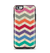 The Retro Chevron Pattern with Digital Camo Apple iPhone 6 Plus Otterbox Symmetry Case Skin Set