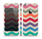 The Retro Chevron Pattern with Digital Camo Skin Set for the Apple iPhone 5