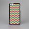 The Retro Colored Green & Purple Chevron Pattern Skin-Sert for the Apple iPhone 6 Skin-Sert Case