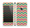 The Retro Colored Green & Purple Chevron Pattern Skin Set for the Apple iPhone 5s