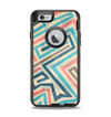 The Retro Colored Maze Pattern Apple iPhone 6 Otterbox Defender Case Skin Set