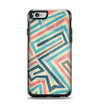 The Retro Colored Maze Pattern Apple iPhone 6 Otterbox Symmetry Case Skin Set