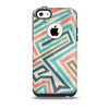 The Retro Colored Maze Pattern Skin for the iPhone 5c OtterBox Commuter Case