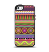 The Retro Colored Modern Aztec Pattern V63 Apple iPhone 5-5s Otterbox Symmetry Case Skin Set