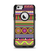 The Retro Colored Modern Aztec Pattern V63 Apple iPhone 6 Otterbox Commuter Case Skin Set