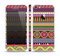The Retro Colored Modern Aztec Pattern V63 Skin Set for the Apple iPhone 5