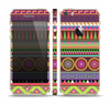 The Retro Colored Modern Aztec Pattern V63 Skin Set for the Apple iPhone 5s