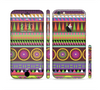 The Retro Colored Modern Aztec Pattern V63 Sectioned Skin Series for the Apple iPhone 6
