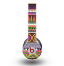 The Retro Colored Modern Aztec Pattern V63 Skin for the Beats by Dre Original Solo-Solo HD Headphones