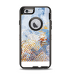 The Retro Vintage Floral Pattern Apple iPhone 6 Otterbox Defender Case Skin Set