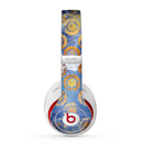 The Retro Vintage Floral Pattern Skin for the Beats by Dre Studio (2013+ Version) Headphones