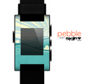 The Retro Vintage Vector Waves Skin for the Pebble SmartWatch