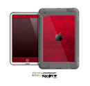 The Rich Red Leather Skin for the Apple iPad Mini LifeProof Case