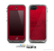 The Rich Red Leather Skin for the Apple iPhone 5c LifeProof Case