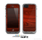 The Rich Red Wood grain Skin for the Apple iPhone 5c LifeProof Case