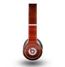 The Rich Red Wood grain Skin for the Beats by Dre Original Solo-Solo HD Headphones