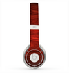 The Rich Red Wood grain Skin for the Beats by Dre Solo 2 Headphones