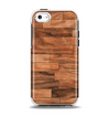 The Rich Wood Planks Apple iPhone 5c Otterbox Symmetry Case Skin Set