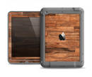 The Rich Wood Planks Apple iPad Air LifeProof Fre Case Skin Set