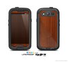 The Rich Wood Texture Skin For The Samsung Galaxy S3 LifeProof Case