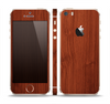 The Rich Wood Texture Skin Set for the Apple iPhone 5s