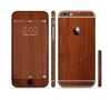 The Rich Wood Texture Sectioned Skin Series for the Apple iPhone 6