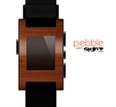The Rich Wood Texture Skin for the Pebble SmartWatch