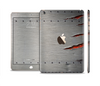 The Ripped Red-Core Metal Full Body Skin Set for the Apple iPad Mini 3