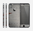 The Ripped Red-Core Metal Skin for the Apple iPhone 6