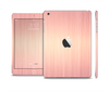 The Rose Gold Brushed Surface Skin Set for the Apple iPad Mini 4
