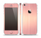 The Rose Gold Brushed Surface Skin Set for the Apple iPhone 5