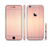 The Rose Gold Brushed Surface Sectioned Skin Series for the Apple iPhone 6s Plus