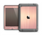 The Rose Gold Brushed Surface Apple iPad Air LifeProof Nuud Case Skin Set