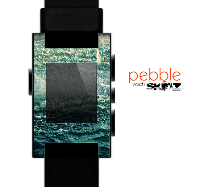 The Rough Water Skin for the Pebble SmartWatch