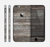 The Rough Wooden Planks V4 Skin for the Apple iPhone 6