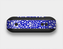 The Royal Blue & White Floral Sprout Skin Set for the Beats Pill Plus