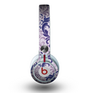 The Royal Purple Laced Wallpaper Skin for the Beats by Dre Mixr Headphones
