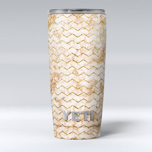 The_Rustic_Brown_and_Tan_Chevron_Pattern_-_Yeti_Rambler_Skin_Kit_-_20oz_-_V1.jpg